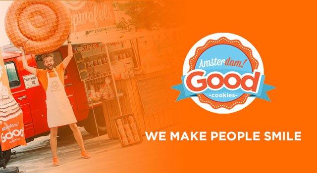 Amsterdam Good Cookies - WordPress website