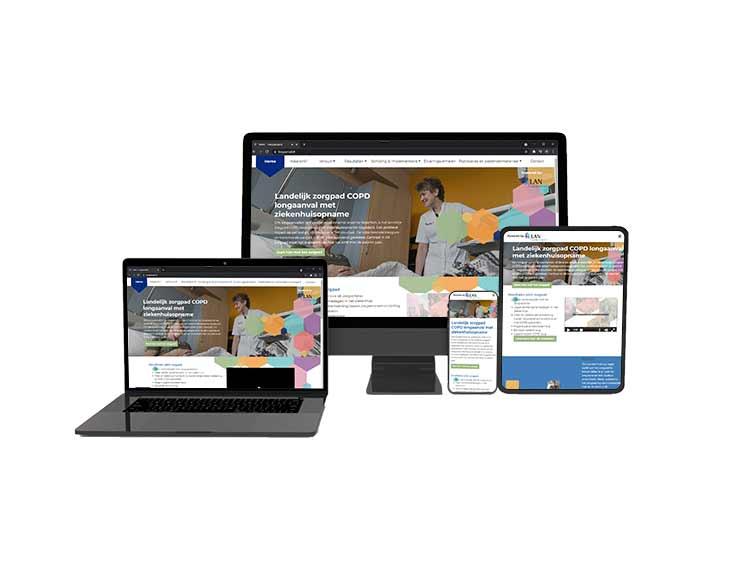 Longaanval.nl website WordPress maatwerk responsive