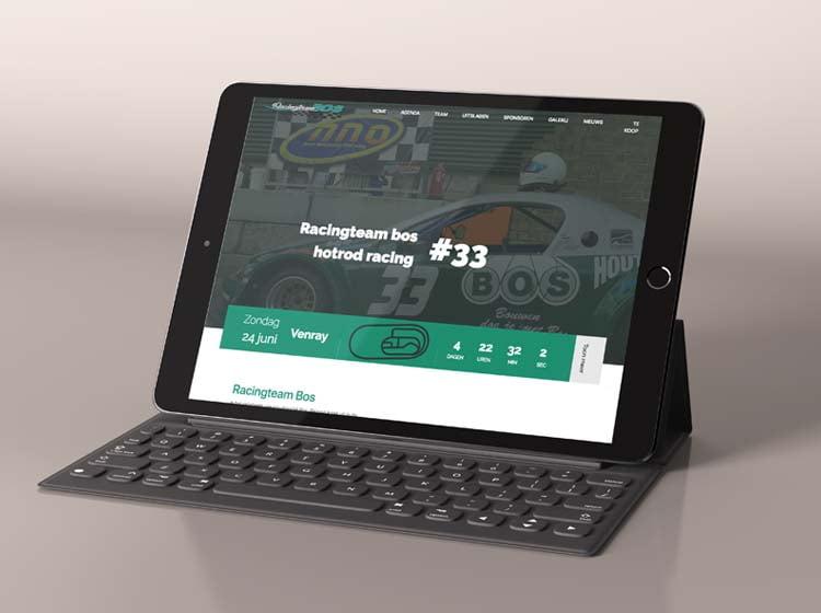 Racingteam Bos website